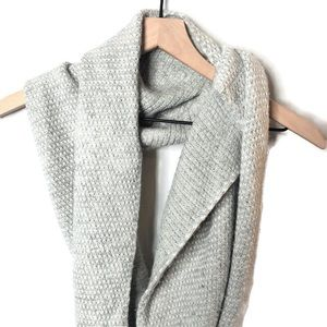 J. Crew Infinity Viscose Wool Knit Scarf